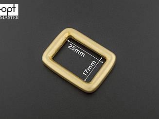 Рамка 25мм латунная матовая арт. 50-А216