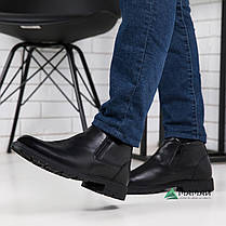 Ботинки мужские из натуральной кожи на замок 40,45р, фото 3