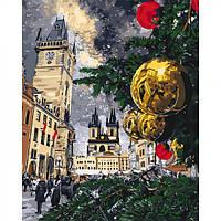 Набор для творчества роспись по номерам Идейка Рождественские каникулы КНО3562