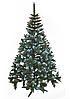 Ель искусственная Рождество 2м Элитная калина голубая шишки, фото 4