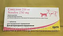 Синулокс 250 мг Zoetis, 10 таблеток