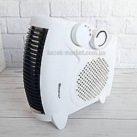 Электрический тепловентилятор дуйка DOMOTEC MS-5903 2000Вт / Электрообогреватель / Дуйчик / Вентилятор