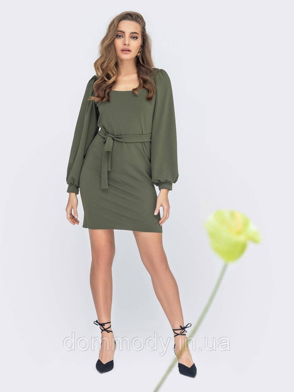 Платье женское Fiona  olive