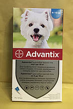 Bayer Advantix (Адвантикс) для собак  4-10 кг за 1 пипетку