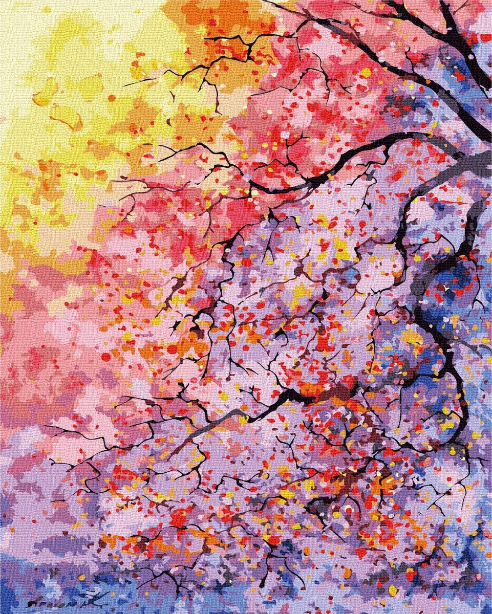 Картина по Номерам Цветущее дерево 40х50см RainbowArt