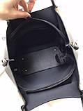 Сумочка в комплекте с клатчем искусственная кожа/качество люкс арт 2512, фото 8