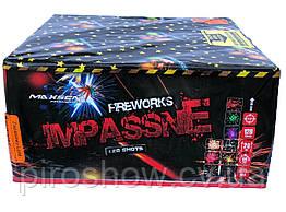 Салютная установка IMPASSNE 128 выстрелов 20 калибр | Фейерверк MC138 Maxsem