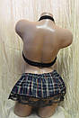 Эротический костюм школьницы Студентка сексуальное белье эротическое белье, фото 3