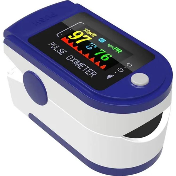 Пульсоксиметр электронный на палец Content Pulse Oximeter   Цветной экран