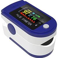 Пульсоксиметр электронный на палец Content Pulse Oximeter   Цветной экран, фото 1
