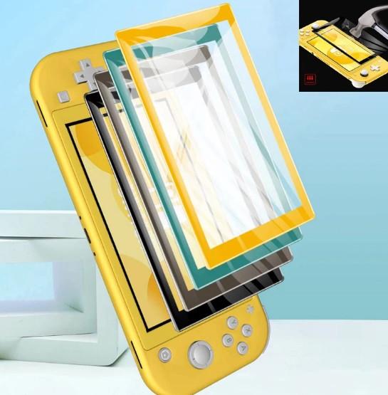Защитное стекло 5D с цветной рамкой VGBUS для Nintendo Switch Lite