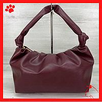 Модная женская сумка среднего размера через плечо из искусственной кожи кожзама экокожи бодового цвета 2020