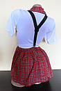 Эротический костюм школьница сексуальний комплект білизни, фото 4