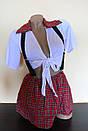 Эротический костюм школьница сексуальний комплект білизни, фото 5