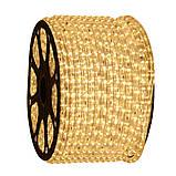 Вулична стрічка дюралайт Led 100м жовта, фото 2