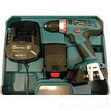 Шуруповерт аккумуляторный Craft-tec CPCD-18-2LI, фото 2