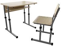 Парта 1 классическая и школьный стул