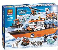 Конструктор Urban Arctic 10443 Арктический ледокол Bela (аналог Lego City 60062), фото 1