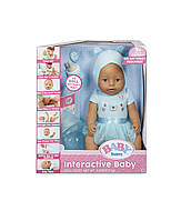 Кукла интерактивная Baby Born с зелёными глазами +9 функций