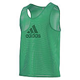 Манишка тренировочная Adidas (красная), фото 5