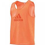 Манишка тренировочная Adidas (красная), фото 6