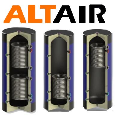 Буферная емкость с змеевиком ALTAIR EcoTerm BS