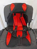 Бескаркасное автокресло детское с подголовником Multi-function car cushion Спайдер, фото 3