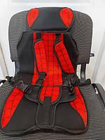Бескаркасное автокресло детское с подголовником Multi-function car cushion Спайдер, фото 4