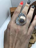Комплект серебряных украшений Леандр от Ирида-В, фото 4