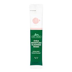 Ночная увлажняющая маска для сухой и чувствительной кожи лица VT Cosmetics Cica Hyalon Moisture Sleeping Mask