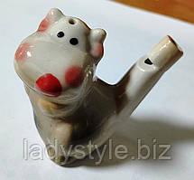 Свистулька с быком (коровой) - символ Нового года