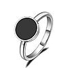 """Женское кольцо """"Black"""", р. 16.5, 17.5, 18, 19"""
