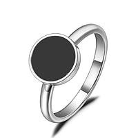 """Женское кольцо """"Black"""", р. 16.5, 17.5, 18, 19, фото 1"""