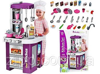 Дитяча ігрова кухня зі світлом і звуком, ллється вода | Дитяча кухня | Ігровий набір Кухня Limo Toy