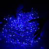 Новогодняя гирлянда Бахрома 500 LED, Синий цвет, 22,5 м + пульт, фото 3