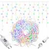 Новогодняя гирлянда Бахрома 500 LED, Разноцветный, 22,5 м, фото 4