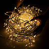 Новогодняя гирлянда Бахрома 300 LED, Теплый белый, 14,5 м, фото 3