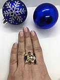 Комплект серебряных украшений Стоун синий-раух от Ирида-В, фото 2