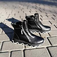 Ботинки, кроссовоки женские кожаные зимние спортивные 36,37,38,39,40