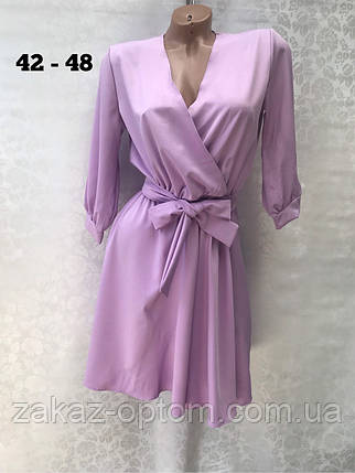Плаття жіноче оптом(42-48)Україна-64397, фото 2