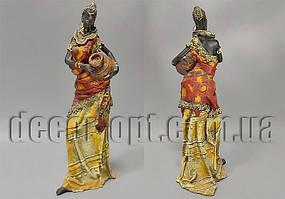 Статуэтка африканка с кувшином 33см