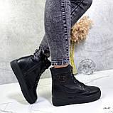 Женские ботинки кожаные Зима 13537, фото 5