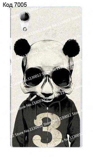 Чехол для lenovo p70 панель накладка с рисунком медведь