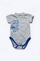 Боди из кулира для новорожденных мальчиков 303-00015-2МК
