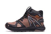 Чоловічі зимові шкіряні черевики MERRELL SLAB Olive р. 40 41 42 43, фото 1