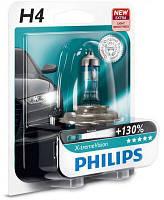 Автолампа H4  галогеновая 60/55W Philips 12342XV X-treme Vision B1