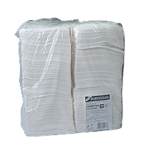 Серветки паперові, 240*240 мм, 400шт, в пп упаковці, білі