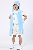 Карнавальный новогодний костюм Снеговик 110-120, фото 1