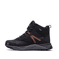 Чоловічі зимові шкіряні черевики MERRELL Black р. 43 44, фото 1