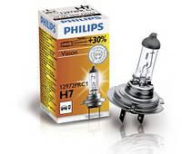 Автолампа H7  галогеновая 55W Philips 12972PRC1 Premium Plus